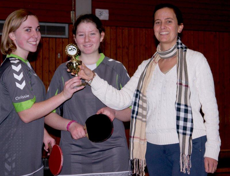 von links Christina Frei, Jaqueline Steinmann und Nadia Pawelzik.